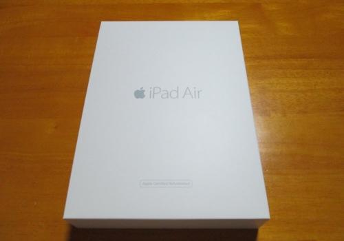 iPad Air2開封の様子