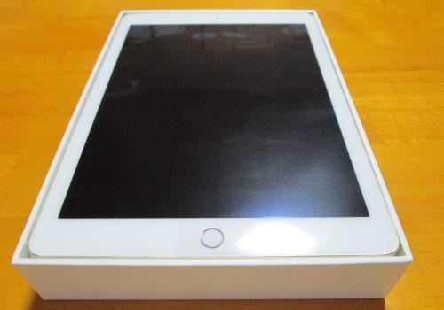 iPad Air2整備済製品開封の様子
