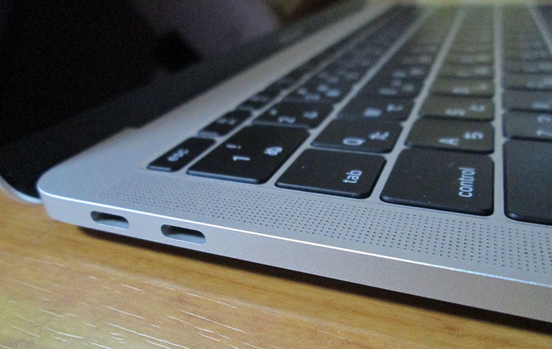 新型MacBook Pro13インチ