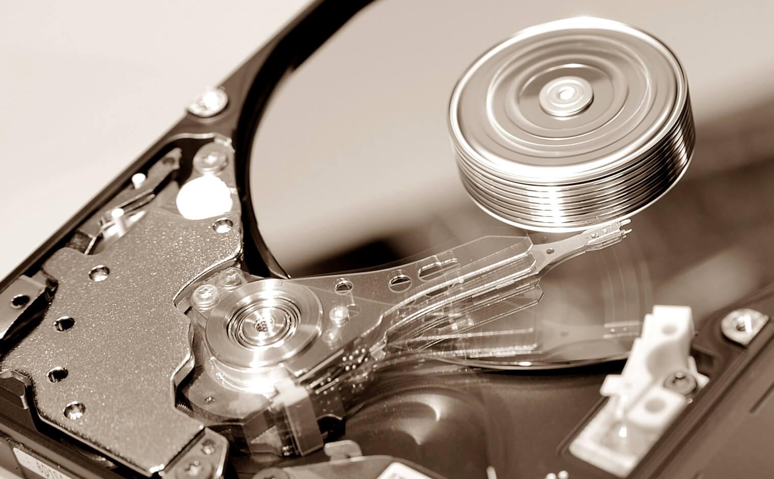 HDDの内側と外側での速度の違い